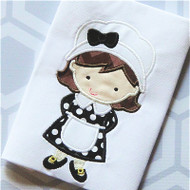 Pilgrim Girl 2 Applique