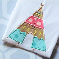 Tee Pee 2 Applique