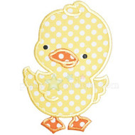 Cute Chick Applique