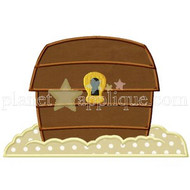 Treasure Chest Applique