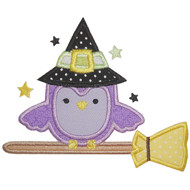 Owl on Broom