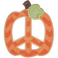 Peace Pumpkin 2