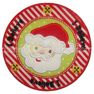 Santa Seal Applique