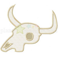 Steer Skull Applique