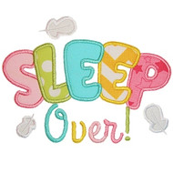 Sleep Over Applique
