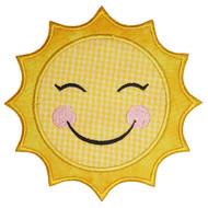 Sun Applique