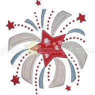 Sweet Firework Applique