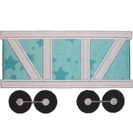 Train Car Applique