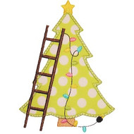 Tree and Ladder Applique