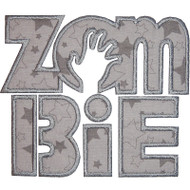 Zombie Text Applique