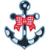 Bow and Anchor Applique