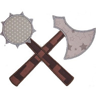 Medival Weapons Applique