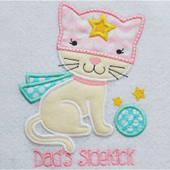 Kitty Sidekick Applique