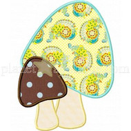 Mushrooms Applique