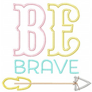 Be Brave Applique