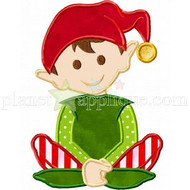Santas Worker Applique