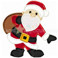 Santa Clause Applique