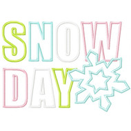 Snow Day Applique