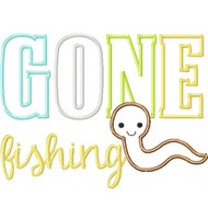 Gone Fishing Worm