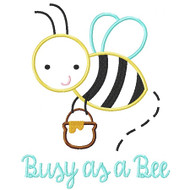 Busy as a Bee Applique