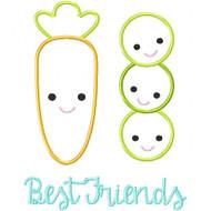 Peas and Carrots Besties