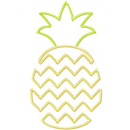 Chevron Pineapple Applique