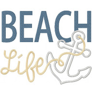 Beach Life Applique