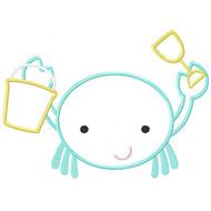 Boy Beach Crab