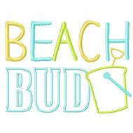 Beach Bud Applique