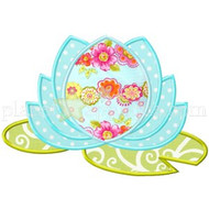 Water Lotus Applique