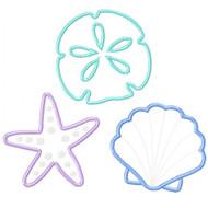 3 of the Sea Applique
