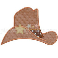 Cowboy Hat Applique