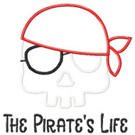 Pirates Life Applique