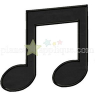 Music Note Applique