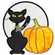 Halloween Scene Applique