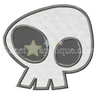 Wacky Skull Applique