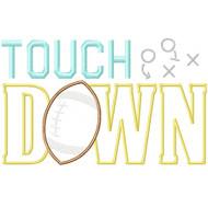 Touchdown Applique