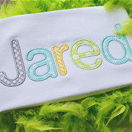 Jared Applique Alphabet