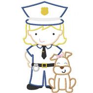 K9 Police Girl