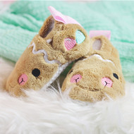 ITH Gingerbread Baby Booties