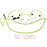 Peas So Loved Applique