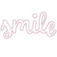 Smile Applique