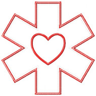Star of Life Applique