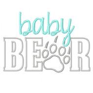 BabyBear Applique
