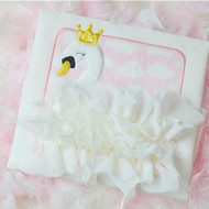 Swan Patch Applique