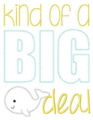 Big Deal Vintage and Blanket Stitch Applique