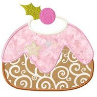 SugarPlum Pudding Applique