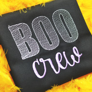 Boo Crew Sketch Embroidery