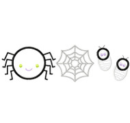 Spider Set Satin and Zigzag Stitch Applique