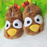In the Hoop Turkey Baby Booties